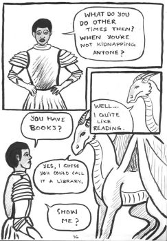 24h Comic 2014: A Dragon's Tale p.16 by SaxonVoter