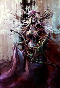 Day 12 Banshee Queen by JohnDevlin