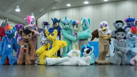 Bronycon 2015 Fursuit Lineup (3) by krysto2012