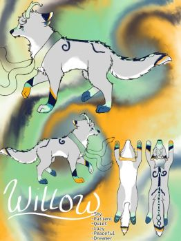 Willow Feral Ref by SerenityTheDreamer