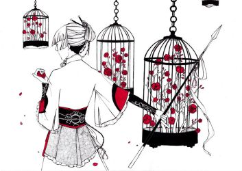 In the cage by Kaede--kun