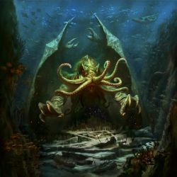 Cthulhu, the card game for FFG by tegehel