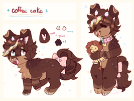 + coffee cake + by LeopardieWolf