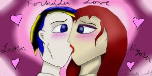 Luma and Kyora Forbidden love by LordExDeath