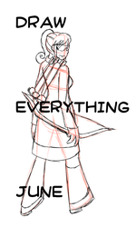 Draw Everything June 2: All!! by AngelAndChangeling