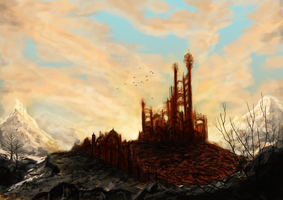 The red castle by Phantagrafie