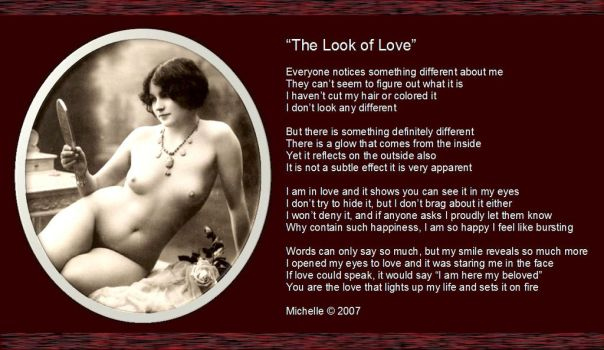 The Look Of Love by VisualPoetress