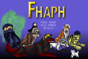 FHAPHetalia Poster 2 (Nordic Style) by SnowWolpard