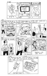 Hourly Comics Day 2014 by Cola82