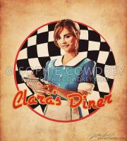 Clara's Diner by sophiecowdrey