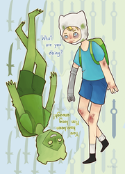 Finn vs Fern by Heumilch
