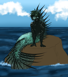 MerMay 2018 YCH: Slot 1 by Shinavar