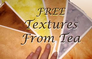 6 Tea Textures by Mermaid-Kalo