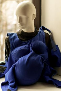 Unexcpectedly glamorous mannequin by nekto1456