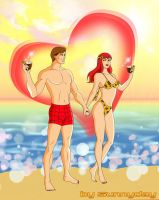 Peter And Mary Jane by sunnyday2000