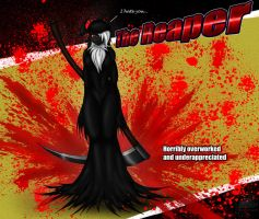 Reaper angree by Snowfyre