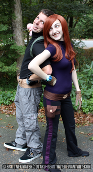 Kim Possible Ron Stoppable Cosplay by BrittyDee
