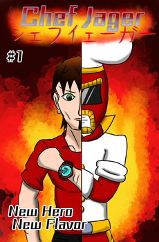 Chef Jager Chapter 1 Cover by Krazy-dog