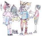 Convinicing Thunderkittens into Human Disguises by CCB-18