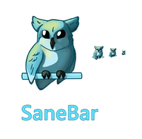 SaneBar logo and icon by FutureMillennium