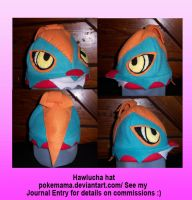 Hawlucha hat by PokeMama