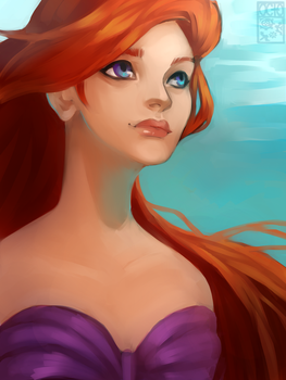 Ariel The Little Mermaid. by OctoGear
