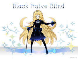 Black Naive Blind by m2fslide