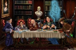 The Last Supper by MatesLaurentiu