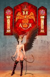Lilith Demoness 2 Nude Variant Color by Jason-Lenox