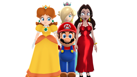 Mario's Girls by FcoMk513