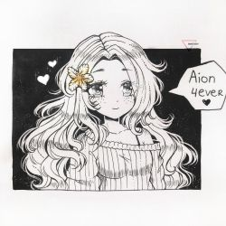 [CM] Liner art | Aion by Inntary