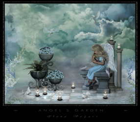 Angel's Garden by IlonaVozari