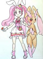 Cure Lopunny Whip by Derochi