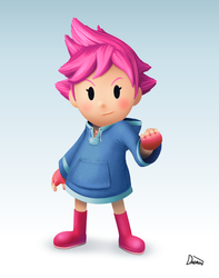 Kumatora Smashified by Daeron-Red-Fire
