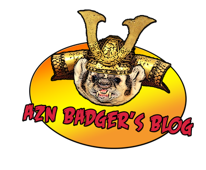 Azn Badger's Blog Logo by fatsfazoul