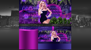 CherryUniverse's newest layout with Candice Accola by BrielleFantasy