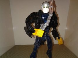 Bionicle Jason Voorhees MOC by sideshowOfMadness