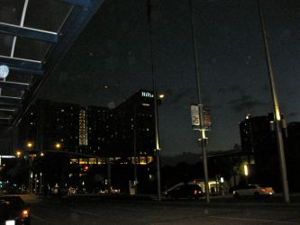 Downtown at Night by Urvy1A