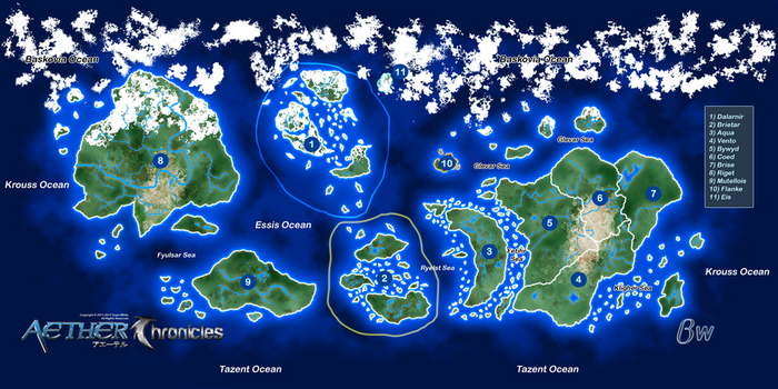 [Concept Art] Aether Map by Blizzard-White