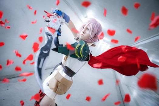 Final Fantasy XIII - Lightning :: 02 by soulCerulean