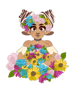 Prompt: May Flowers by oreorc
