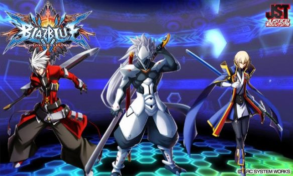 BlazBlue - Rival Swords Clash Once More by Antimatter-Radius