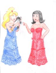 Pornstarr Sisters Prom Dresses by AmongTheFirst