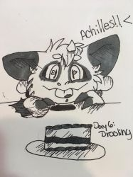 Day 6: Drooling by kopaisfluffy