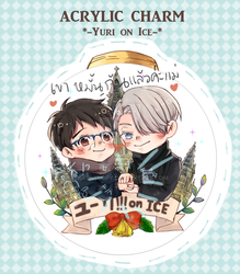 Acrylic Charm Yuri!!! on Ice by Karnelopy