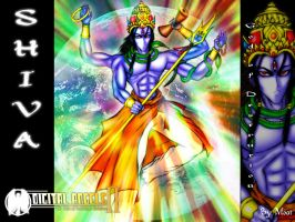 Shiva The God of Destruction by moai666