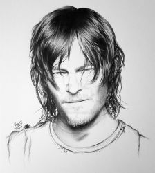 Norman Reedus by FromPencil2Paper
