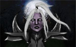 Maiev Shadowsong by hellou4