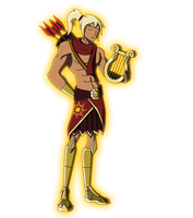 Character Reboot: The 12 Olympians - Apollo by Moheart7
