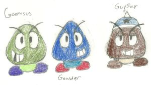 The Goomba Group by ZeoLightning